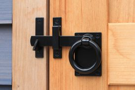 Contemporary Ring Latch – Flush Mount