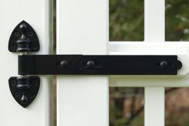 Adjustable Old-Fashioned Hinge for PVC and Vinyl Gate