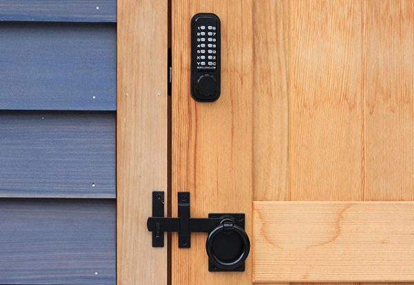 Vertical Keypad Lateral Action Combination Dead Bolt Lock